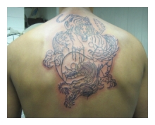 Outlines Big Tattoo Dennis